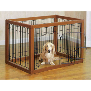How To Get Dog Used To Playpen